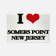 I love Somers Point New Jersey Magnets