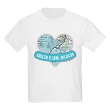 I Love Harsen's Island Kids T-Shirt