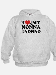 I Love My Nonna and Nonno Hoodie