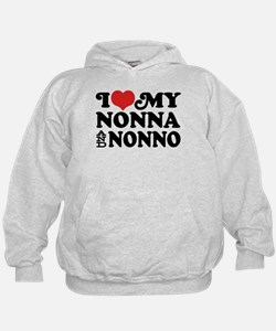 I Love My Nonna and Nonno Hoody