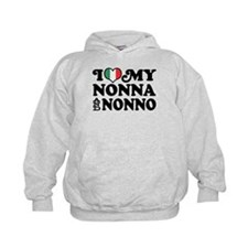 I Love My Nonna and Nonno Hoody