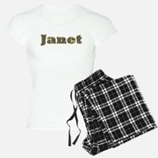 Janet Gold Diamond Bling Pajamas