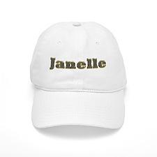 Janelle Gold Diamond Bling Baseball Baseball Cap