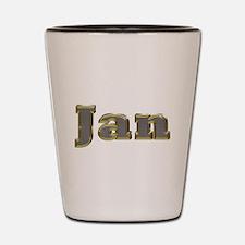Jan Gold Diamond Bling Shot Glass