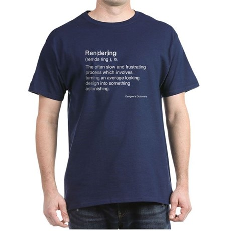 Rendering Dark T-Shirt