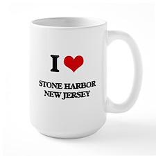 I love Stone Harbor New Jersey Mugs