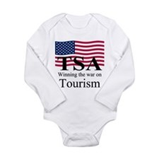 TSA-black.png Long Sleeve Infant Bodysuit
