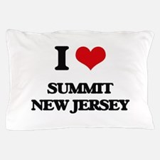 I love Summit New Jersey Pillow Case
