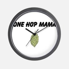 Hop Cone 1 Wall Clock