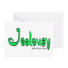 Jealousy Logo Greeting Cards (Pk of 20)