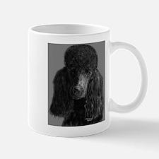 standard poodle black Mugs