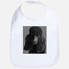 standard poodle black Bib