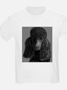 standard poodle black T-Shirt