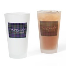 Tartan-MacDonald of Clanranald Drinking Glass