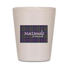 Tartan-MacDonald of Clanranald Shot Glass