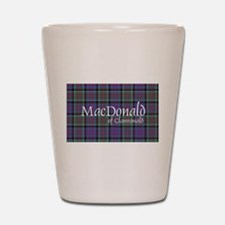 Tartan-MacDonald of Clanranald Shot Glass