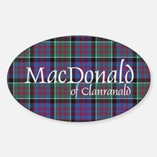 Tartan-MacDonald of Clanranald Decal
