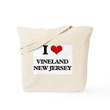 I love Vineland New Jersey Tote Bag