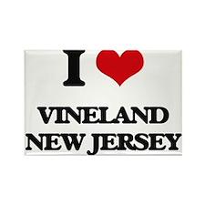 I love Vineland New Jersey Magnets