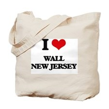 I love Wall New Jersey Tote Bag