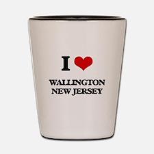 I love Wallington New Jersey Shot Glass