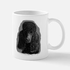 black standard poodle Mugs