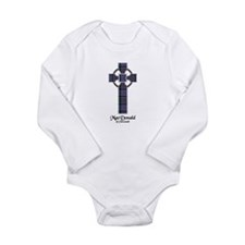 Cross-MacDonald of Cla Long Sleeve Infant Bodysuit