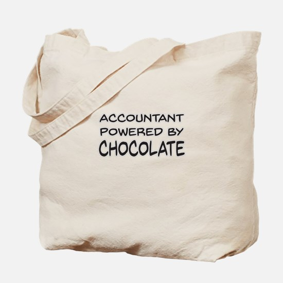 Accountant Powered By Chocolate Tote Bag