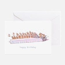 """Happy Birthday"" Greeting Card"