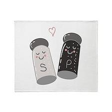 Salt & Pepper Throw Blanket