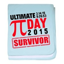 Ultimate Pi Day Survivor baby blanket