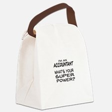 Accountant Super Power Canvas Lunch Bag