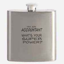 Accountant Super Power Flask