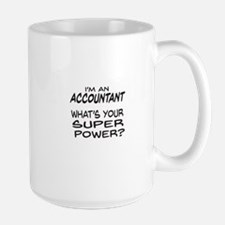 Accountant Super Power Mugs