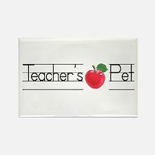 Teacher's Pet Rectangle Magnet