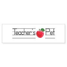 Teacher's Pet Bumper Bumper Sticker