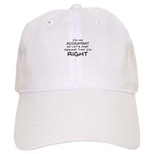 Im an accountant Assume Im Right Baseball Baseball Cap