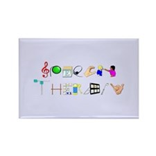 Cute Speech language pathologist Rectangle Magnet (10 pack)
