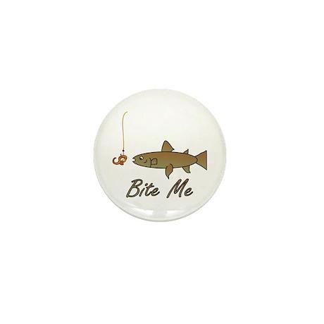 Bite Me Fish Mini Button (10 pack)