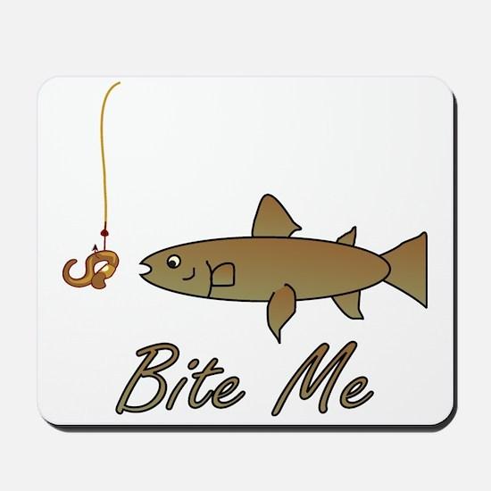 Bite Me Fish Mousepad