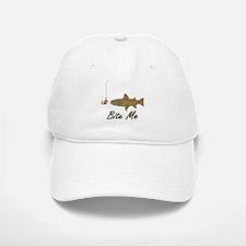 Bite Me Fish Baseball Baseball Cap