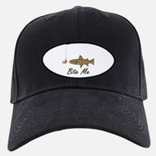 Bite Me Fish Baseball Hat