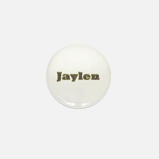 Jaylen Gold Diamond Bling Mini Button