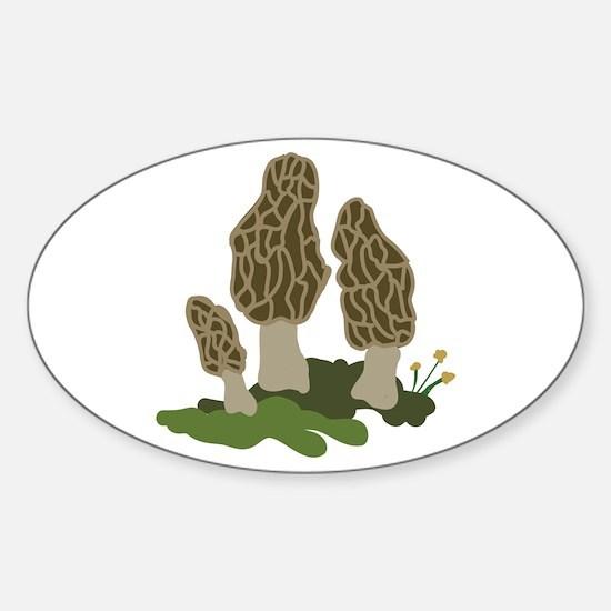 Mushrooms Decal