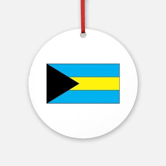 Bahamas Flag Ornament (Round)