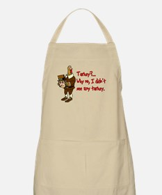 Turkey Disguise BBQ Apron