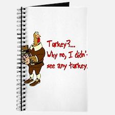Turkey Disguise Journal