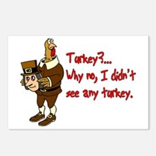 Turkey Disguise Postcards (Package of 8)