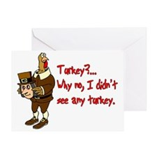 Turkey Disguise Greeting Card