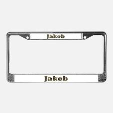 Jakob Gold Diamond Bling License Plate Frame